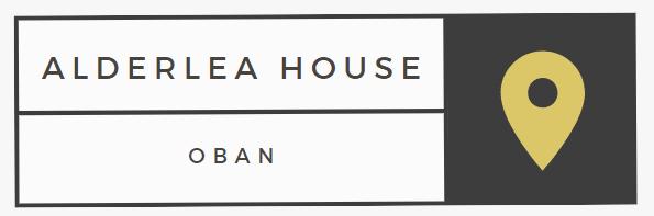 Alderlea House Oban Logo